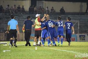 Tổng hợp: Quảng Nam 2-1 Hải Phòng (Vòng 19 V-League 2017)