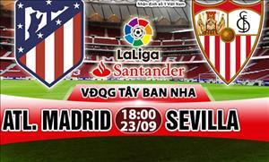 Nhan dinh Atletico Madrid vs Sevilla 18h00 ngay 23/9 (La Liga 2017/18)