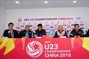 HLV Park Hang Seo lên dây cót tinh thần cho U23 Việt Nam trước trận gặp Iraq