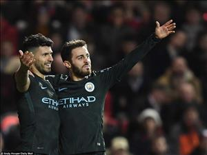 Tổng hợp: Bristol City 2-3 Man City (Lượt về bán kết League Cup)