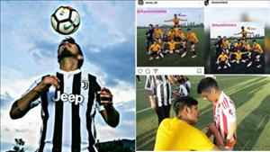 Anh chang song ao voi vo boc nguy tao tai nang tre Juventus