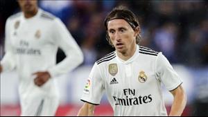 Luka Modric van soc vi Cristiano Ronaldo den Juventus