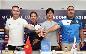 HLV Hoàng Anh Tuấn đặt mục tiêu lớn cho U19 Việt Nam ở đấu trường châu lục