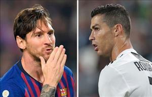 Tiết lộ: Ronaldo và Messi thất bại thảm hại ở Quả bóng vàng 2018
