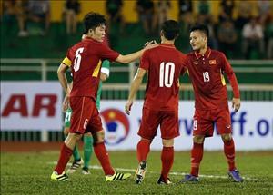 DT Viet Nam vs Lao: Thang nhe mot chut thoi cung du roi