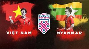 Kết quả Myanmar vs Việt Nam trận đấu bảng A AFF Cup 2018