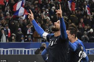 Video tổng hợp: Pháp 1-0 Uruguay (Giao hữu quốc tế)