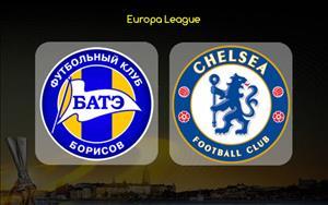 BATE 0-1 Chelsea: Giroud thong nong, The Blues som vuot qua vong bang Europa League