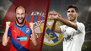 Ket qua Plzen vs Real Madrid tran dau Champions League 2018/19