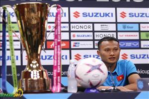 Trọng Hoàng chưa quên món nợ thất bại trước Malaysia ở chung kết SEA Games 25