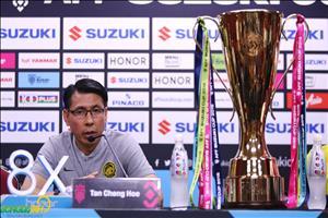 HLV Tan Cheng Hoe tu tin tai dau Viet Nam tai Chung ket AFF Cup 2018