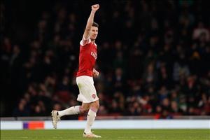 Trung vệ Koscielny nói gì sau màn tái xuất cho Arsenal?
