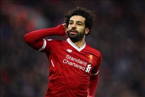 Salah lập kỷ lục ngày Liverpool cán mốc 100 bàn thắng