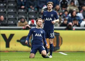 Tổng hợp: Swansea 0-3 Tottenham (Tứ kết FA Cup 2017/18)