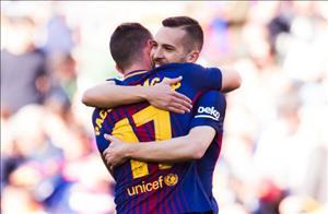 Tổng hợp: Barca 2-0 Bilbao (Vòng 29 La Liga 2017/18)