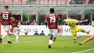 Tổng hợp: AC Milan 3-2 Chievo (Vòng 28 Serie A 2017/18)