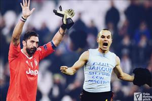 Buffon va Iniesta: Khi anh hao quang dan tat