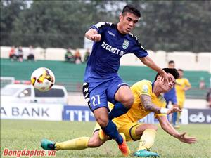 Tổng hợp: SLNA 0-0 Bình Dương (Vòng 6 V-League 2018)