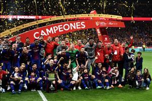 Thấy gì sau khi Barca hủy diệt Sevilla tại chung kết Copa del Rey?