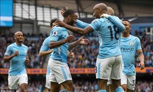 Man City 5-0 Swansea: Sức mạnh của nhà Vua