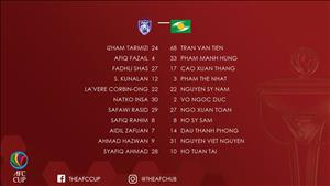 Tổng hợp: Johor Darul Tazim 3-2 SLNA (AFC Cup 2018)