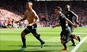 Southampton 0-1 Man City: Cham moc ky luc 100 diem vao phut ... 90'+4