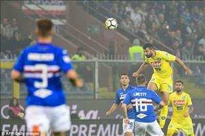 Tong hop: Sampdoria 0-2 Napoli (Vong 37 Serie A 2017/18)