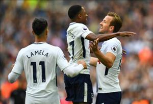Tong hop: Tottenham 5-4 Leicester (Vong 38 Premier League 2017/18)