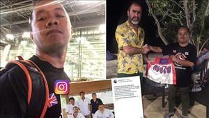 Fan cuong 'xoi tung' ca hon dao de gap go than tuong Cantona