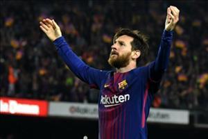 Tong hop 34 ban thang cua Messi tai La Liga 2017/18