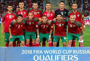Danh sách đội tuyển Marốc tham dự World Cup 2018
