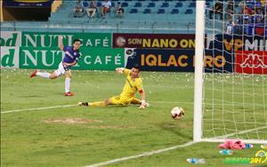 Ha Noi ha guc Quang Ninh de vo dich luot di V-League 2018 nhu the nao?