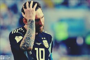 Khau sung da len dan roi, Messi!