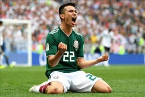 """Hirving Lozano: """"Bup be ma"""" khien nguoi Duc om han"""
