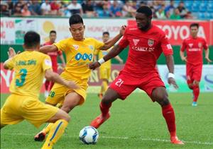 Tổng hợp: Thanh Hóa 3-1 Bình Dương (Vòng 15 V-League 2018)