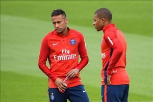 Diem tin Bong da 24h toi ngay 17/7: PSG chot tuong lai Neymar va Mbappe