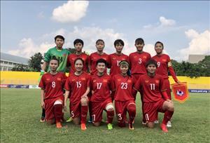 Video tong hop: Nu Viet Nam 3-0 Nu Myanmar (AFF Cup 2018)