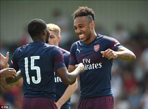 Video tong hop: Boreham Wood 0-8 Arsenal (Giao huu he 2018)