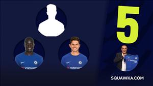 Kante + Jorginho + ???: 5 ung vien cho vi tri con lai noi hang tien ve Chelsea