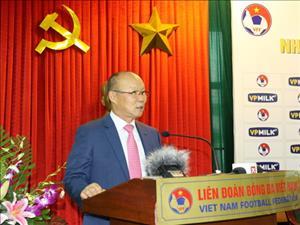 HLV Park Hang Seo dat muc tieu cho DT Olympic Viet Nam tai ASIAD 2018