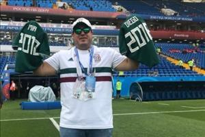 Mất cả gia đình vì tai nạn, CĐV Mexico vẫn vượt qua nỗi đau để tới Nga xem bóng đá