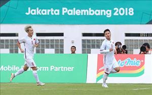 Clip ban thang Quang Hai mo diem cho U23 Viet Nam