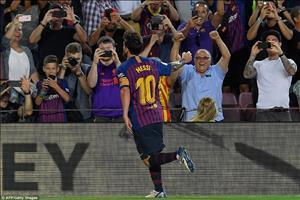Video tong hop: Barca 3-0 Alaves (Vong 1 La Liga 2018/19)