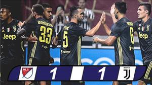 Video tong hop: Ngoi sao MLS 1-1 (pen 3-5) Juventus (Giao huu CLB)
