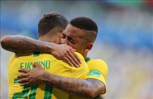 Nong: Gabriel Jesus bi loai khoi DT Brazil
