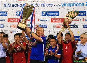 HLV Han Quoc noi gi sau khi U23 Viet Nam vo dich giai giao huu