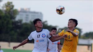 SLNA 3-1 Da Nang (KT): Thang tran, doi bong xu Nghe vuon len vi tri thu 3