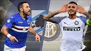 Nhan dinh Sampdoria vs Inter Milan 01h30 ngay 23/9 (Serie A 2018/19)