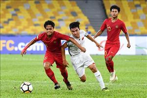 Video tổng hợp: U16 Việt Nam 1-1 U16 Indonesia (VCK U16 châu Á 2018)