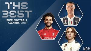 TRỰC TIẾP Gala trao giải FIFA The Best 2018 (0h30 ngày 25/9)